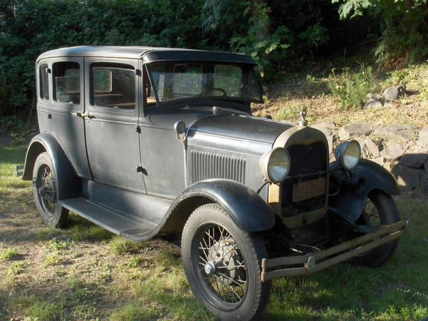 82 Year Old 1929 Ford Model A Fordor