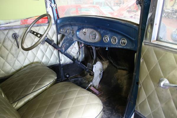 1932 Ford Victoria Interior