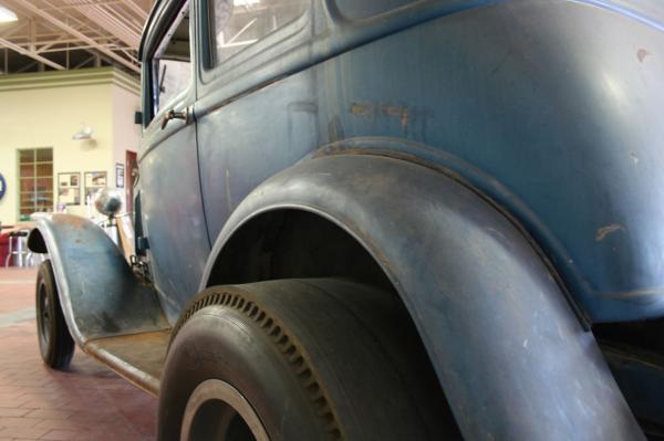 1932 Ford Victoria Rear Corner