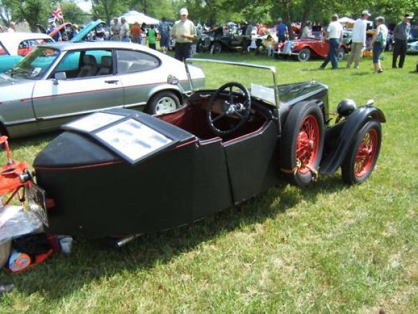 1934 Bsa Tw 34 1 Rear