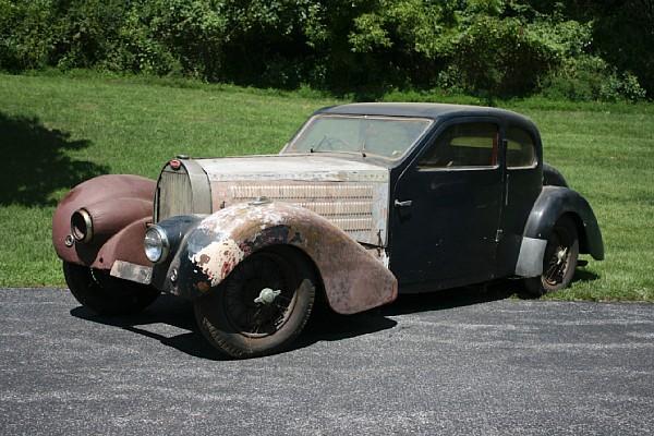 1938 Bugatti Type 57 Ventoux Barn Find