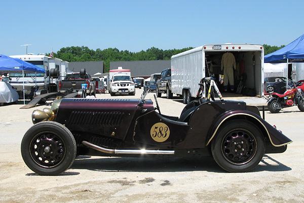 1938 Morgan 4 4 Race Car