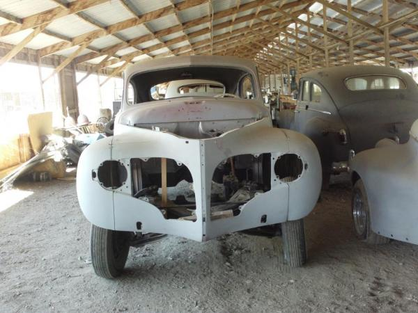 1940s American Barn Find Four Cars