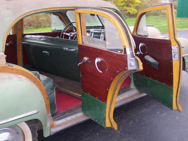 1947 Chrysler Town And Country Interior