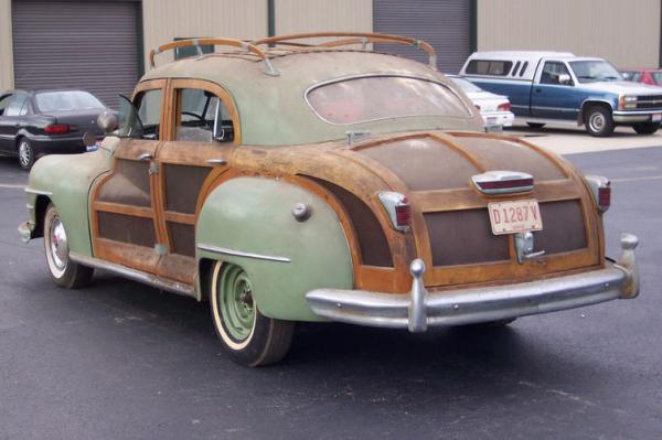1947 Chrysler Town And Country Rear
