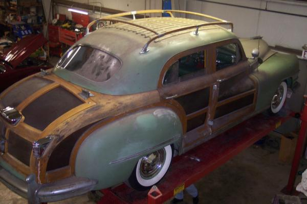 1947 Chrysler Town And Country Roof Rack