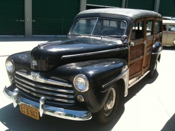 1947 Ford Woody Wagon Front