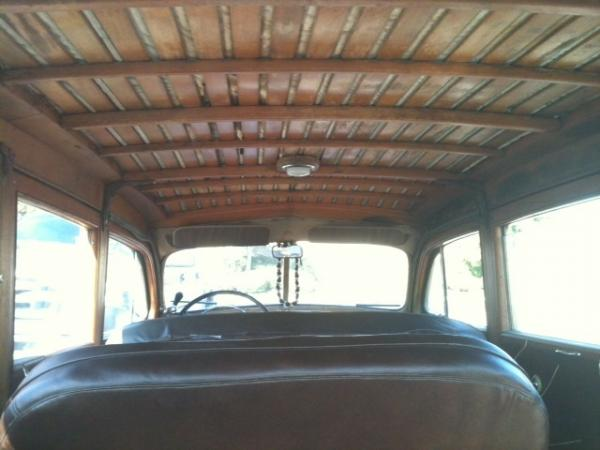 1947 Ford Woody Wagon Interior Ceiling