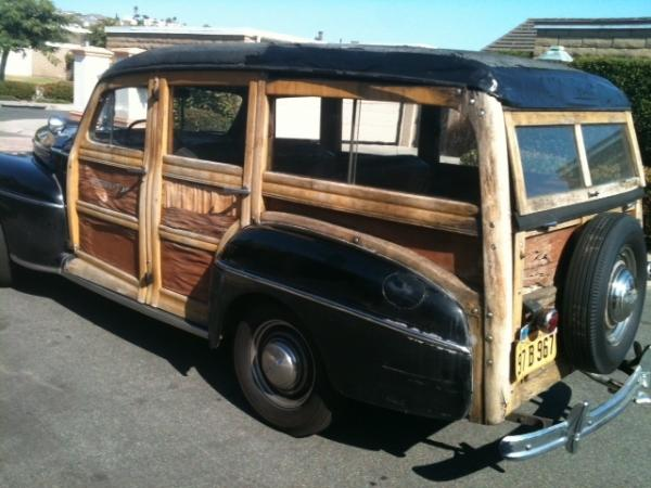 1947 Ford Woody Wagon Rear