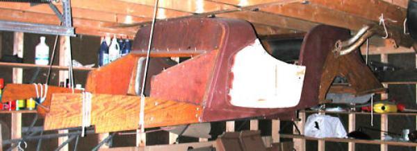 1947 Morgan Roadster Body