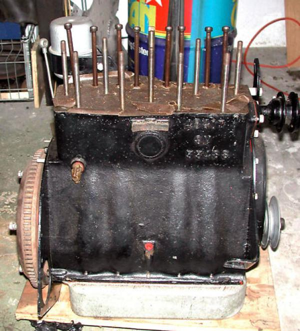 1947 Morgan Roadster Engine