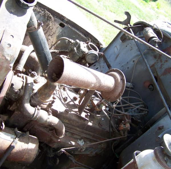1947 Hudson Truck Engine