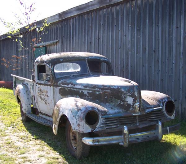 1947 Hudson Truck Front Corner