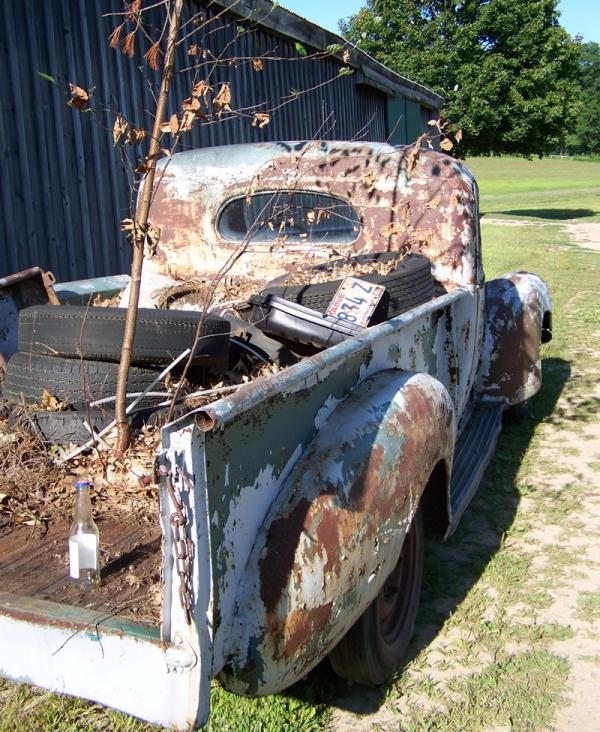 1947 Hudson Truck Rear Corner