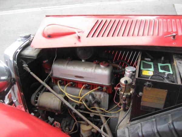 1947 Mg Tc Engine
