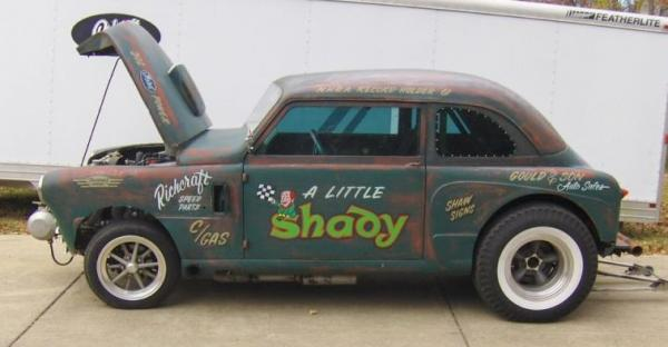 1948 Crosley Deluxe Gasser Side