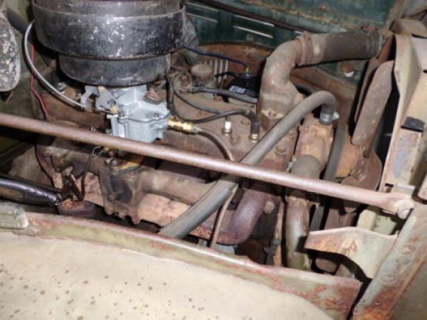 1949 Dodge Power Wagon Engine