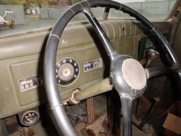 1949 Dodge Power Wagon Interior