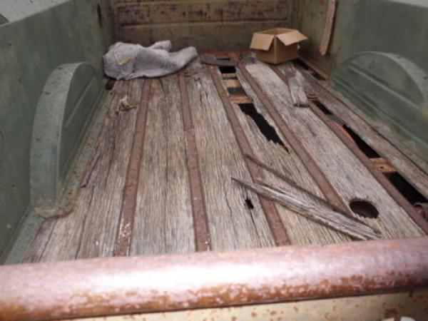 1949 Dodge Power Wagon Wooden Bed