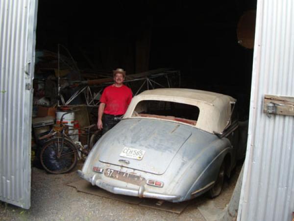 1949 Delahaye 135m Rear