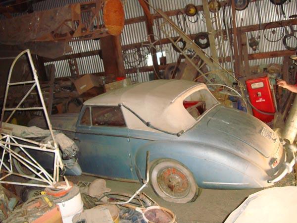 1949 Delahaye 135m Side