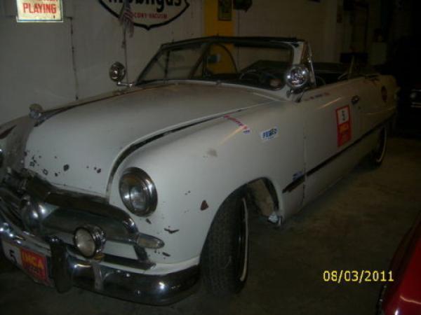 1949 Ford Custom Convertible Front Corner