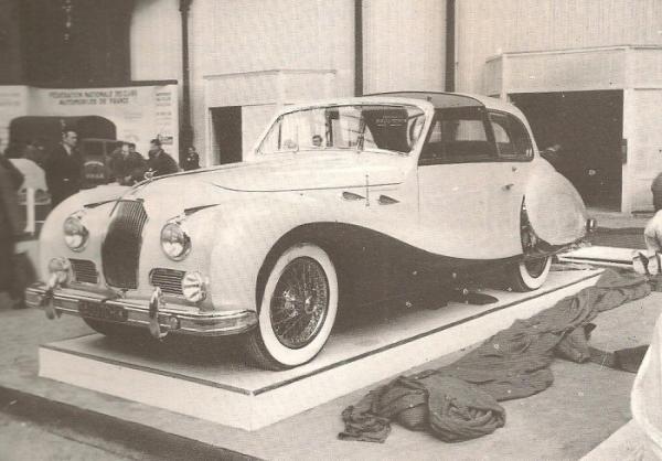 1949 Talbot Lago T26 Sedanca At Paris Salon