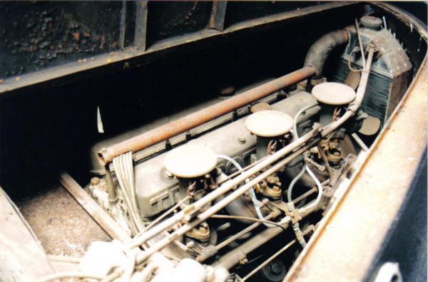 1949 Talbot Lago T26 Sedanca Engine