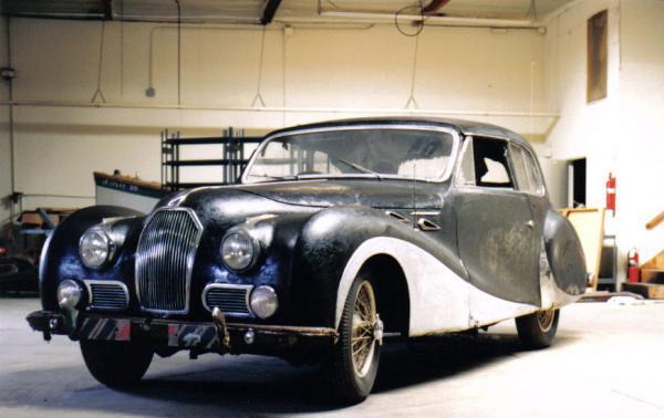 1949 Talbot Lago T26 Sedanca Front Corner