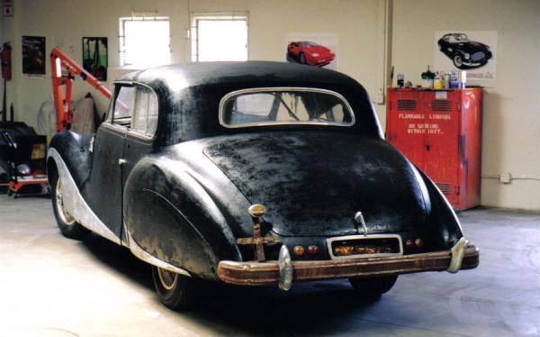 1949 Talbot Lago T26 Sedanca Rear Corner