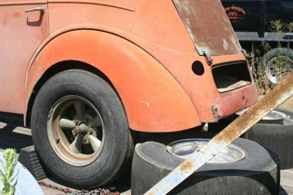 1951 Ford Prefect Slicks