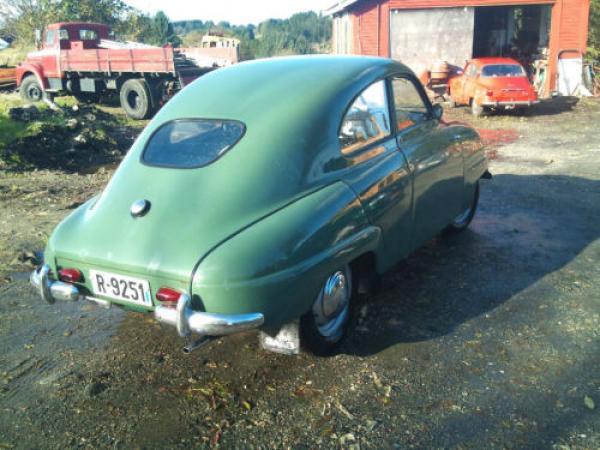 1951 Saab 92 Rear