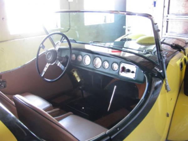 1951 Allard K2 Roadster Interior