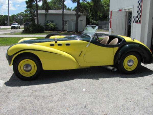 1951 Allard K2 Roadster Side