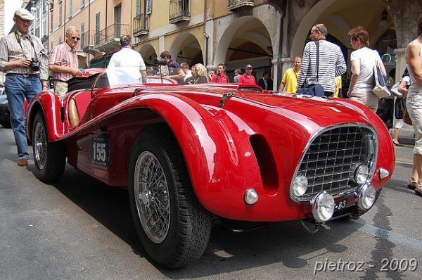 1952 Ferrari 225 S Vignale Spyder Corner