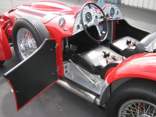 1952 Allard J2x Interior