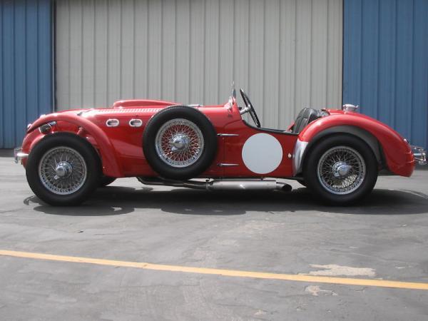 1952 Allard J2x Side