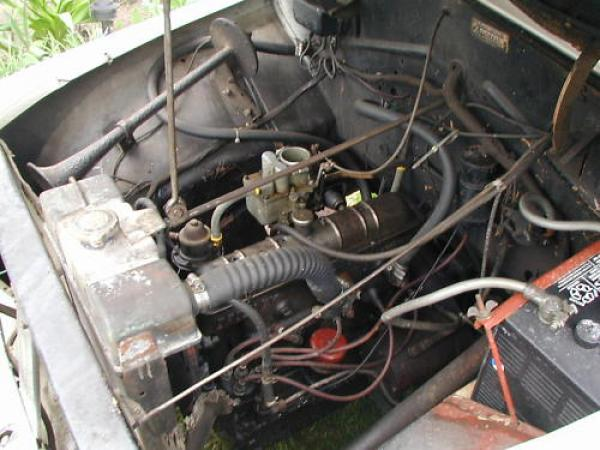 1952 Crosley Sedan Convertible Engine
