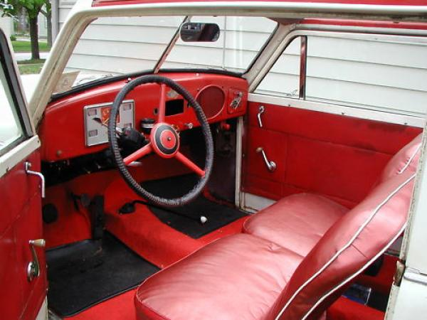 1952 Crosley Sedan Convertible Interior