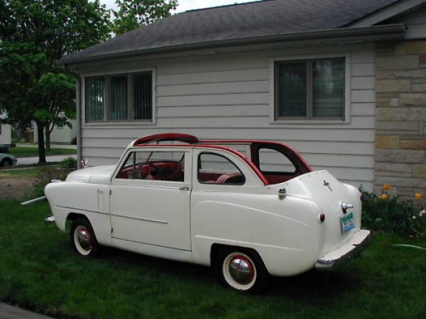 1952 Crosley Sedan Convertible Rear Side