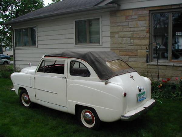 1952 Crosley Sedan Convertible Rear Top Up