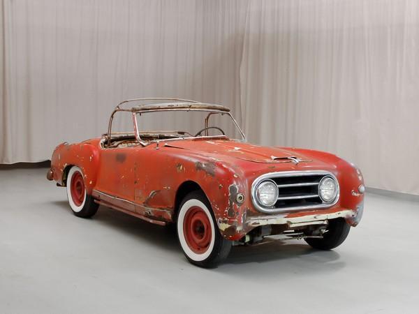 1952 Nash Healey Roadster Front Corner
