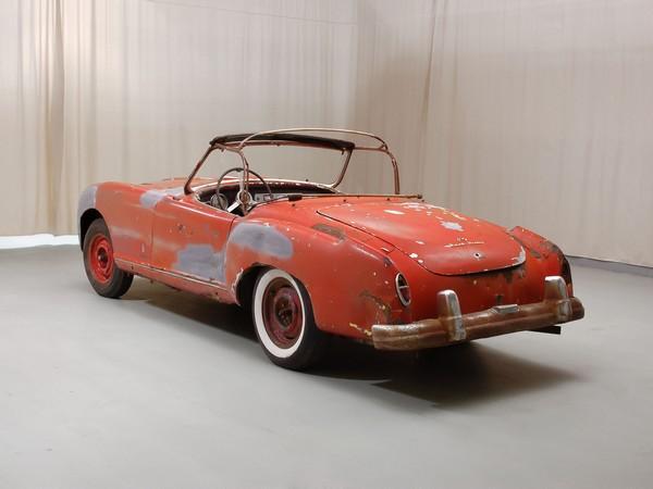 1952 Nash Healey Roadster Rear Corner