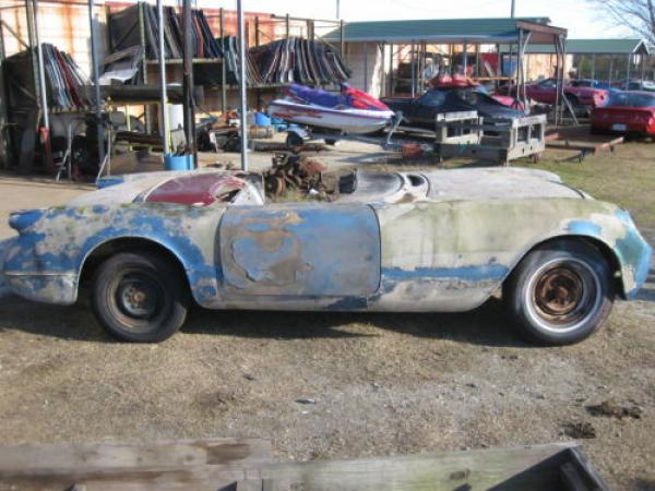 Cars For Sale St Louis >> First Year: 1953 Corvette Project