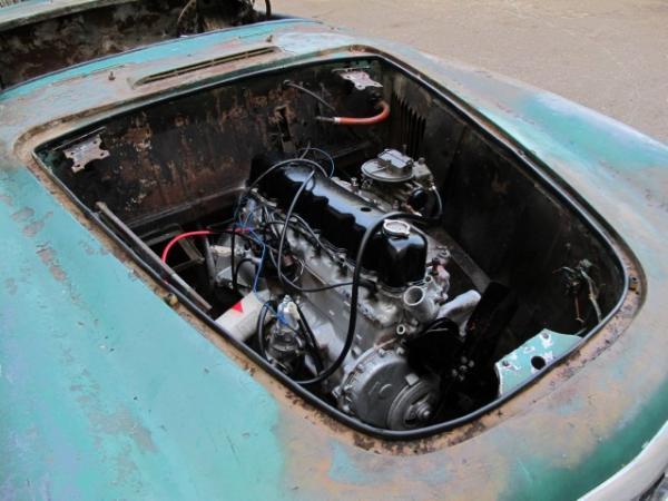 1953 Nash Healey Project Engine