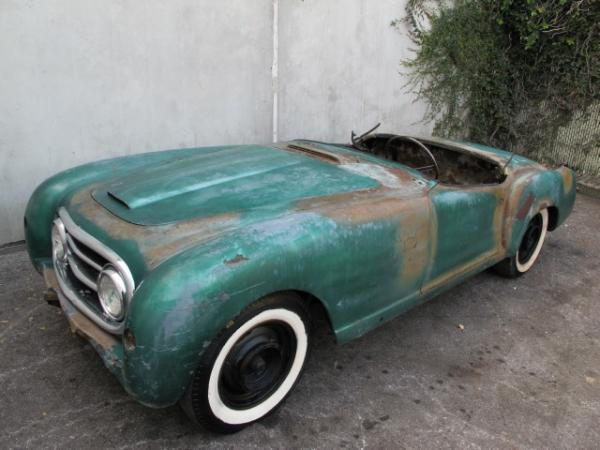 1953 Nash Healey Project