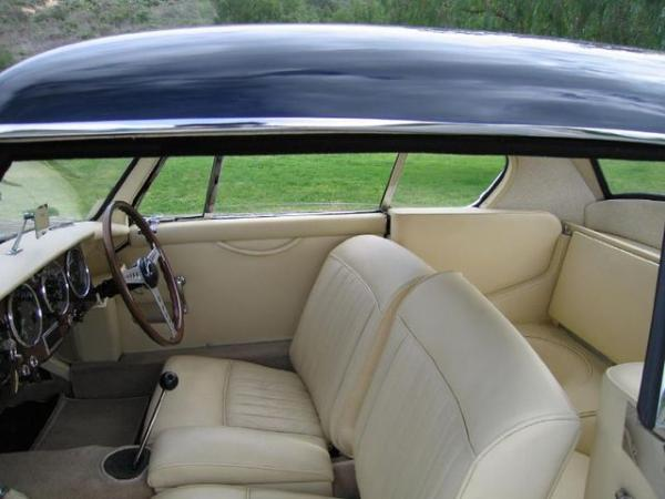 1953 Aston Martin Db2 Prototype Interior