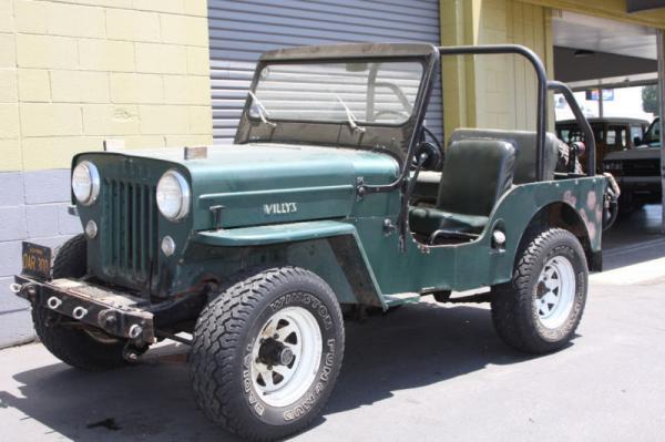 1953 Willys Jeep Cj3b Front Corner