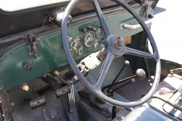 1953 Willys Jeep Cj3b Interior