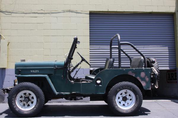 1953 Willys Jeep Cj3b Side
